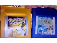 Pokemon games all are 20 pounds each