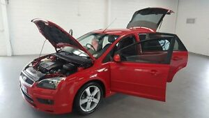 2007 Ford Focus LS Zetec Red 5 Speed Manual Hatchback Frankston Frankston Area Preview