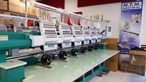 Machine à broder - Machine à coudre -Heat press