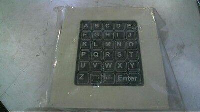 RAFI GB Limited Access Control Panel Letter Keypad FIN1-99279