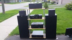 Sony Speaker set and entertainment system