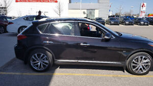 MINT - 2016 Infinity QX50 - Low mileage, Extended Warranty, Blac