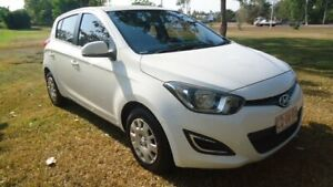 2014 Hyundai i20 PB MY15 Active White 4 Speed Automatic Hatchback Winnellie Darwin City Preview