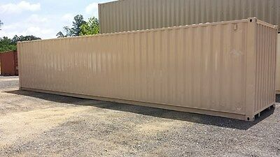 40 Cargo Shipping Container - Refurbished