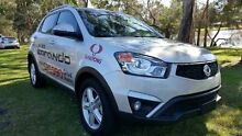 2015 Ssangyong Korando C200 MY14 SX Silent Silver 6 Speed Automatic Wagon Tuggerah Wyong Area Preview