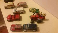 Antique and vintage toy cars