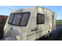BAILEY PAGEANT NORMANDE SERIES 5 2006 2 BERTH AWNING AND MOTOR MOVER