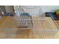 Ikea Pax 50cm wire baskets x 6