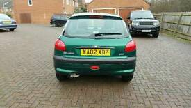 Peugeot 206 1.1 brand new exhaust system including cat