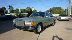 1979 Mercedes-Benz 450SEL 6.9 Green 3 Speed Automatic Sedan Capalaba Brisbane South East Preview