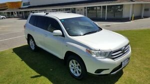 2012 Toyota Kluger GSU45R MY11 Upgrade KX-R (4x4) 5 Seat Crystal Pearl 5 Speed Automatic Wagon Maddington Gosnells Area Preview
