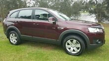 2012 Holden Captiva CG MY12 7 SX (FWD) Burgundy 6 Speed Automatic Wagon Tuggerah Wyong Area Preview