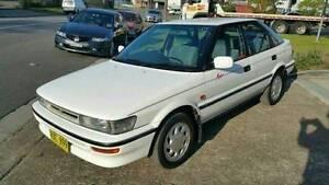 1991 Toyota Corolla AE92 Seca 1.6L 4Cyl Hatchback Automatic Waratah Newcastle Area Preview