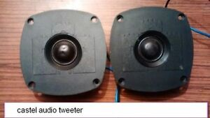 tweeter castel audio
