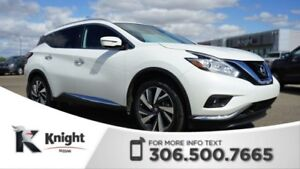 2016 Nissan Murano Platinum! Command Start! Navigation! Heated &