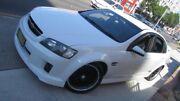 2009 Holden Commodore VE MY09.5 SS-V White 6 Speed Manual Sedan Homebush Strathfield Area Preview