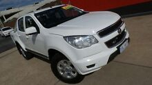 2013 Holden Colorado RG LX (4x4) White 6 Speed Automatic Crewcab Phillip Woden Valley Preview