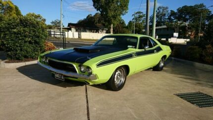 1974 Dodge Challenger T/A Tribute Green 3 Speed Automatic Coupe Capalaba Brisbane South East Preview