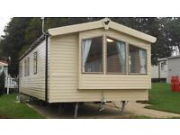 DOUBLE GLAZED, FULLY HEATED AND INSULATED DELUXE STATIC CARAVAN FOR SALE IN TENBY!!
