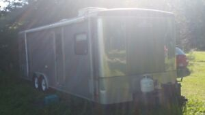 Campmaster Trailer with Toy Hauler