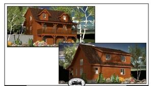 Gorgeous Log Home and 60x40shop on 32 acres Peterborough Peterborough Area image 2