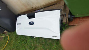 Ford F-150 tailgate white