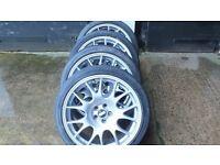 Four BBS CH002 Alloy Wheels