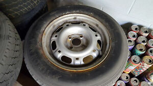 "FS: 14"" Steel Wheels Off An E30 BMW 4x100 Kitchener / Waterloo Kitchener Area image 4"