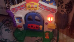 jouet, fisher price maisonnette, home