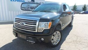 2012 Ford F-150 Platinum | Local Trade In, Loads of Options!