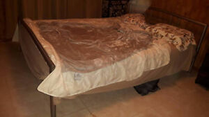 Queen TemPure Bed with Frame