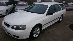 2006 Ford Falcon BF XT White 4 Speed Auto Seq Sportshift Wagon Maidstone Maribyrnong Area Preview