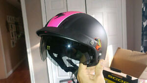 Motorcycle half helmet - Price reduced from $200 to $75 no tax.