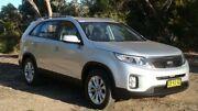 2014 Kia Sorento XM MY14 SLi 4WD Silver 6 Speed Sports Automatic Wagon Oaks Estate Queanbeyan Area Preview