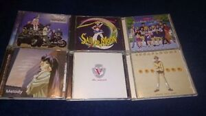 Japanese anime music cd collection
