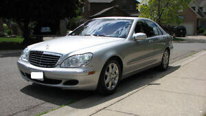 2004 Mercedes-Benz S-Class Sedan 4matic Safetied and E-tested