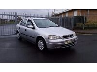 Vauxhall astra 1.6 club in mint condition long tax&mot hpi clear