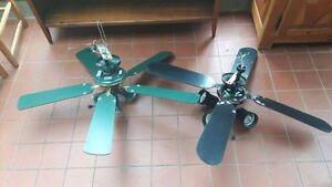 2 ventilateurs luminaire de plafond (40$ chaque)