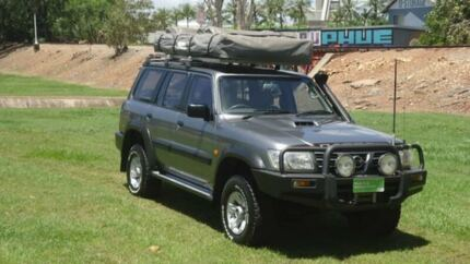 2004 Nissan Patrol GU IV MY05 ST Grey 5 Speed Manual Wagon & rooftop tent | Gumtree Australia Free Local Classifieds