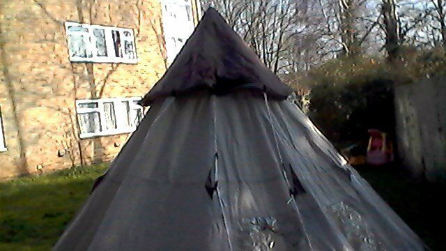 4 man Teepee Tent hardly used & 4 man Teepee Tent hardly used | in Exeter Devon | Gumtree
