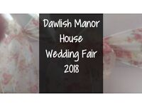 Dawlish Manor House Wedding Fair 2018