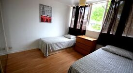 TWIN ROOM/DOUBLE ROOM TURNPIKE LANE, MANOR HOUSE,STAMFORD HILL,SEVEN SISTERS. AVAILABLE NOW