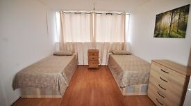 GREAT DEAL!! TWIN ROOM VERY CLOSE TO OVAL TUBE STATION - ALL INCLUSIVE