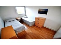 AMAZING TWIN ROOM 5 MIN WALKING TO STOCKWELL TUBE - ZONE 2 - ALL INCLUSIVE