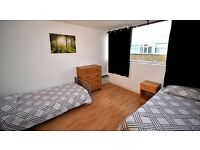TERRIFIC TWIN ROOM VERY CLOSE TO OVAL TUBE STATION - ZONE 2 - ALL INCLUSIVE