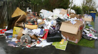 GARBAGE & JUNK REMOVALSAME DAY SERVICE & no dumping fees CALL