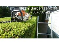 Gardening/property services- fencing, hedges, tree care, garden clearence, /driveway/patio cleaning
