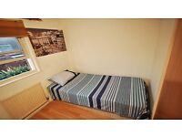 Quiet and non-criminal area of GREENWICH offers a cosy single room to rent.