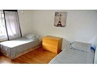 GREAT DEAL!! TWIN ROOM CLOSE TO OVAL TUBE STATION - ALL INCLUSIVE