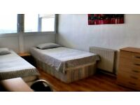 NICE TWIN ROOM IN SURREY QUAYS - ZONE 2 - ALL INCLUSIVE
